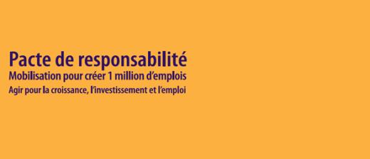 Pacte de responsabilité : Le MEDEF met sur la table 25 engagements